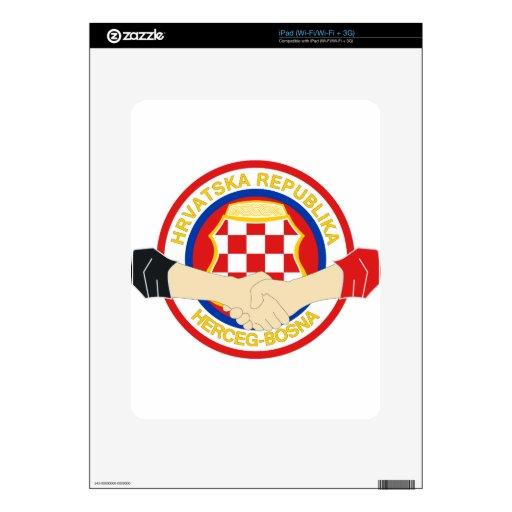Herceg Bosna, Rukovanje iPad Skins