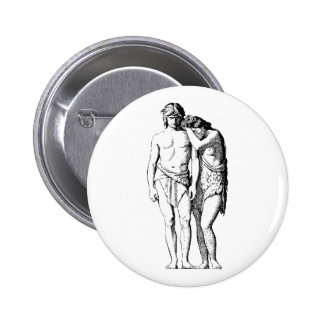 Hercles Aphrodite Badge Button