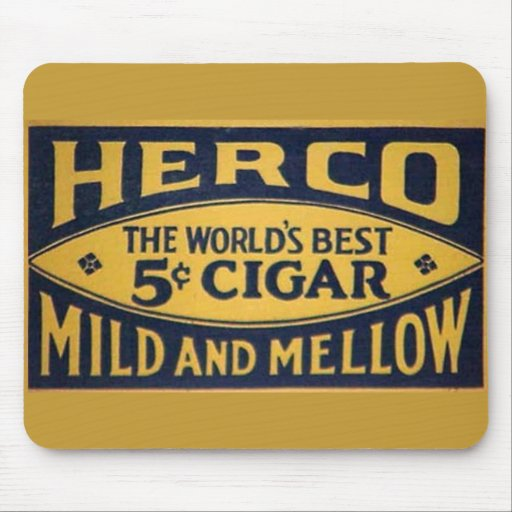 Herco Cigar-1905 Mouse Pad