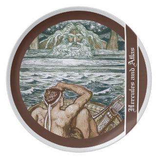 Hercules and Atlas Plate