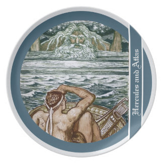 Hercules and Atlas Party Plate