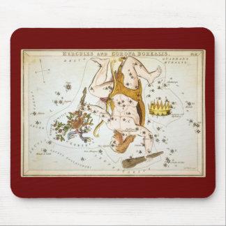 Hercules and Corona Borealis Mouse Pad