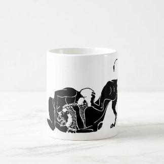 HERCULES and LION Classic White Coffee Mug