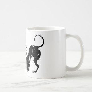 HERCULES and LION Coffee Mug