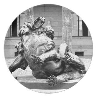Hercules and Nemean Lion Dinner Plate