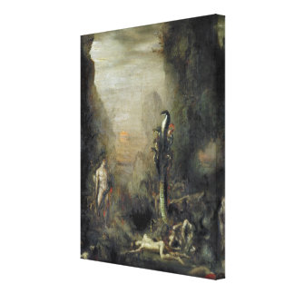 Hercules and the Lernaean Hydra Canvas Print