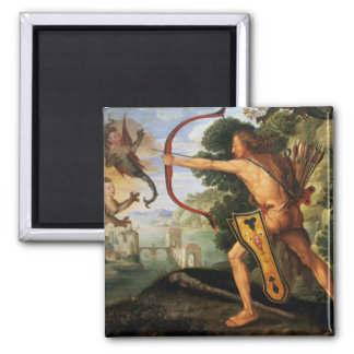 Hercules and the Stymphalian birds, 1600 Magnet
