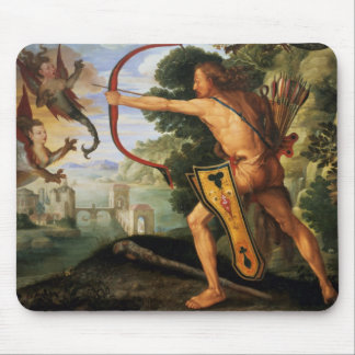 Hercules and the Stymphalian birds, 1600 Mouse Pad