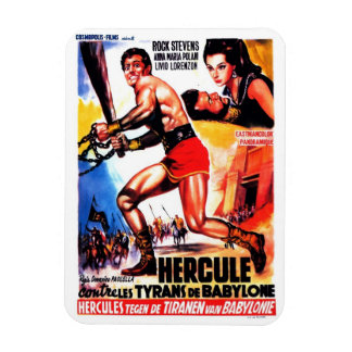 """Hercules and the Tyrants of Babylon"" Magnet"