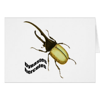 Hercules Beetle Card