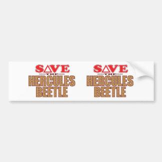 Hercules Beetle Save Bumper Sticker
