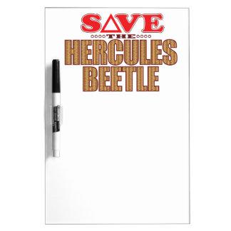 Hercules Beetle Save Dry-Erase Board