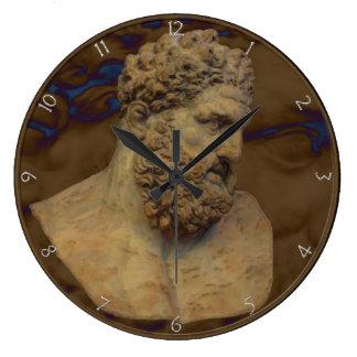 Hercules Bust Wall Clock