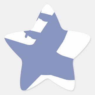 Hércules C-130 Pegatina En Forma De Estrella