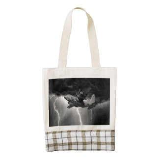 Hercules C-130 Zazzle HEART Tote Bag