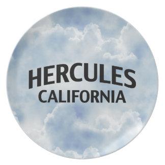 Hercules California Plate