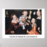 Hércules en Omphale por Lucas Cranach (i) Impresiones