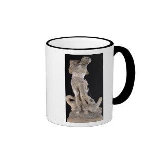Hercules Fighting the Lernaean Hydra Ringer Coffee Mug