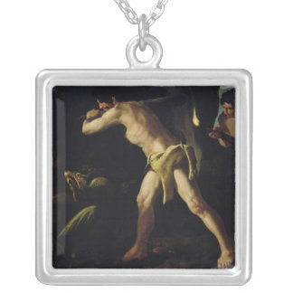 Hercules Fighting with the Lernaean Hydra Necklace