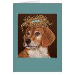 Hércules la tarjeta del beagle