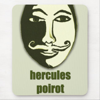 Hércules Poirot Alfombrillas De Ratón