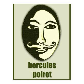 hercules Poirot Postcard
