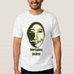 Hercules Poirot Tee Shirts