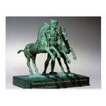Hércules que somete los caballos de Diomedes, Postales