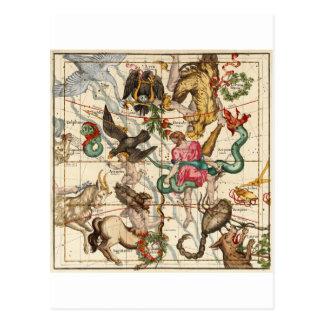 Hercules Sagittarius Scorpius Capricornus Post Cards