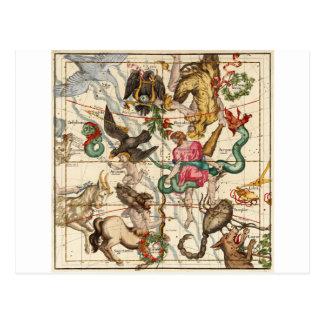 Hercules Sagittarius Scorpius Capricornus Postcards