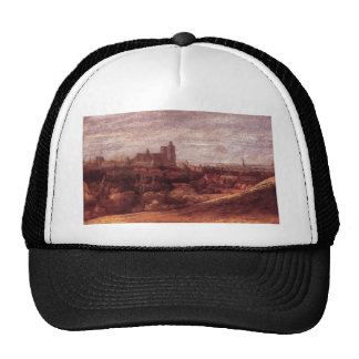 Hercules Seghers- View of Brussels from North East Trucker Hat