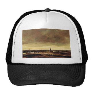 Hercules Seghers- View of Rhenen Trucker Hat