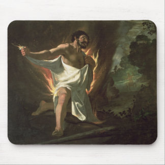 Hercules Tearing the Burning Robe, c.1634 Mouse Pad