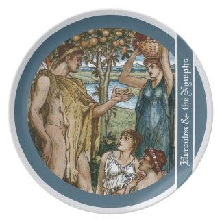 Hercules & the Nymphs Dinner Plate
