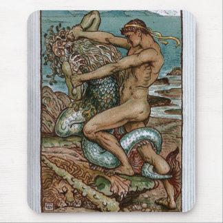 Hercules & the Old Man of the Sea Mousepad