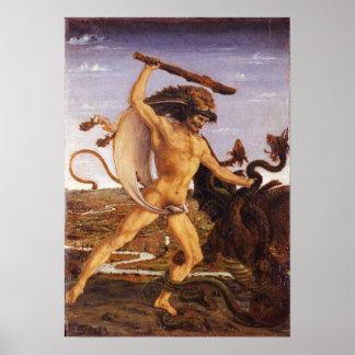 Hércules y el Hydra Poster
