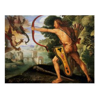 Hércules y los pájaros de Stymphalian, 1600 Tarjetas Postales