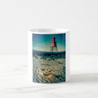 Herd Groyne Lighthouse, South Shields Mug