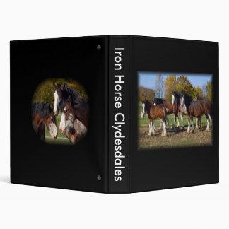 Herd Iron Horse Clydesdales Binders