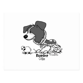 Herd it all - Border Collie note card Postcard