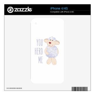 Herd Me iPhone 4S Decal