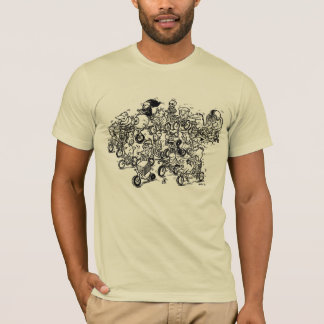 Herd of Bikes (Mens) T-Shirt