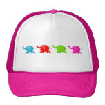 Herd of Elephants Trucker Hats