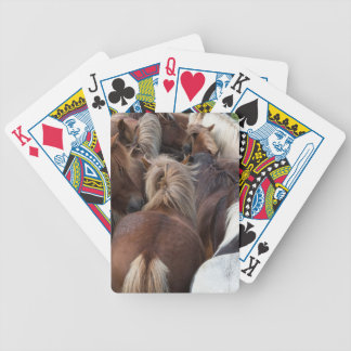 Herd of Icelandic horse Bicycle Playing Cards