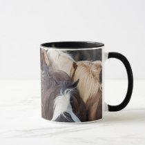 Herd of Icelandic horse Mug