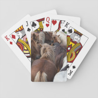 Herd of Icelandic horse Playing Cards