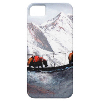 Herd Of Mountain Yaks Himalaya iPhone SE/5/5s Case