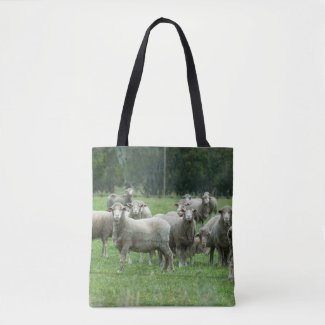 Herd of Sheep Tote