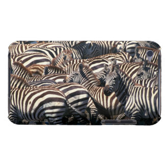 Herd of zebras barely there iPod case