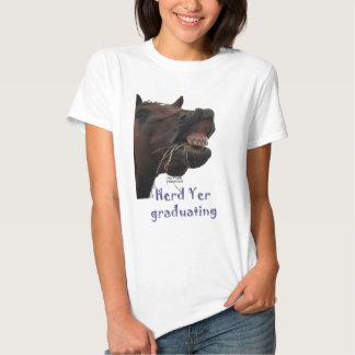 Herd Yer Graduating Funny Horse T Shirt